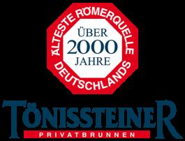 TÖNISSTEINER – Deutschlands älteste Römerquelle – Mineralwasser
